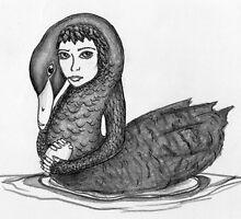 Leda and the Swan by Danielle Bain