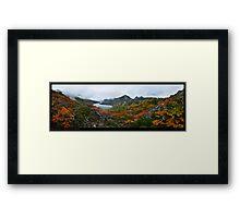 Hanson Lake Scenic Framed Print