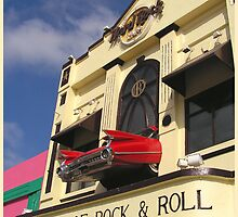 Hard Rock Cafe, Tijuana, Mexico by Koala