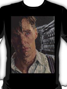 The Imitation Game - Benedict Cumberbatch Digital Portrait  T-Shirt