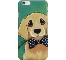 Dressed to Impress - Golden Retriever iPhone Case/Skin
