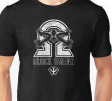 Babylon 5 - B5 - Black Omega - Starfury (Distressed) Unisex T-Shirt