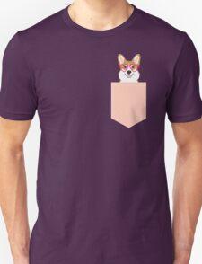 Corgi Love - Welsh Corgi funny nerd art dog lover gifts for pet owners customizable dog gifts Unisex T-Shirt