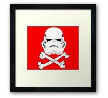 StormTrooper dead bones.  Framed Print
