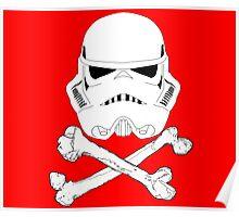 StormTrooper dead bones.  Poster