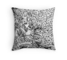 SHADI KA DIN  Throw Pillow