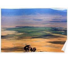 Ngorongoro Crater Tanzania Poster