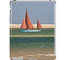 Red Sail Boat iPad Case/Skin