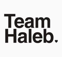 Team Haleb - black text by PirateShip