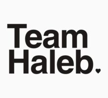 Team Haleb - black text by PirateShip