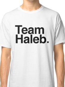Team Haleb - black text Classic T-Shirt