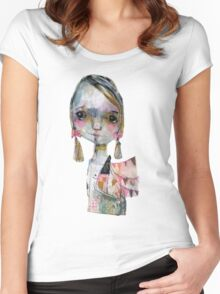 I am not my past Women's Fitted Scoop T-Shirt