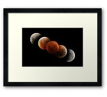 Lunar Eclipse Framed Print
