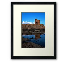 Lady`s Tower Reflected Framed Print