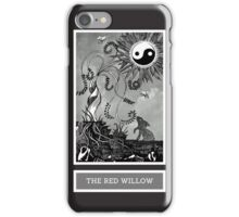 Shadow Season: THE RED WILLOW iPhone Case/Skin