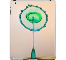 The green and the blue iPad Case/Skin