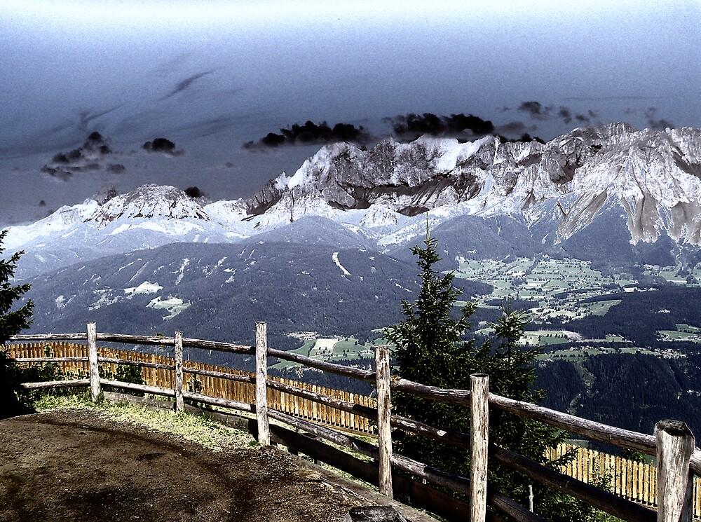 Austrian Mountains by BizziLizzy