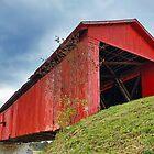 Houck Covered Bridge in Putnam County, Indiana by Kenneth Keifer