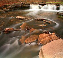 Waterfall Long Exposure by Adam Bykowski