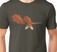 Oak leaves with acorns Unisex T-Shirt