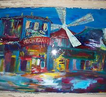 The Moulin Rouge by MegJay