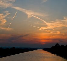 River Dee Sunset by Jeff Dalton