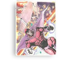 Magneto Master of Magnetism Canvas Print