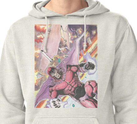 Magneto Master of Magnetism Pullover Hoodie