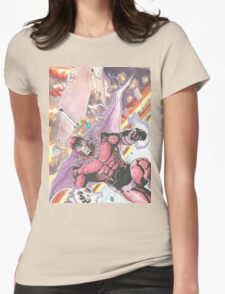 Magneto Master of Magnetism Womens Fitted T-Shirt