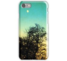 Vintage moon iPhone Case/Skin