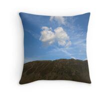 Sky, Slope, Water Throw Pillow