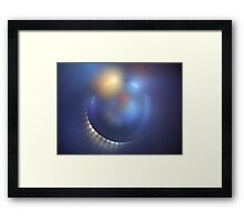 Blue Moons Framed Print