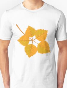 Yellow leaves Unisex T-Shirt