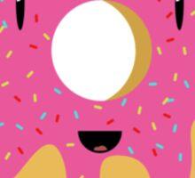Cartoon Donut Sticker Sticker