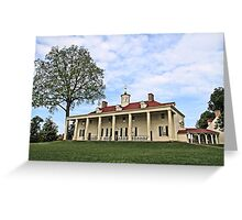 Mount Vernon Greeting Card