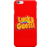 Lucky Guess iPhone Case/Skin