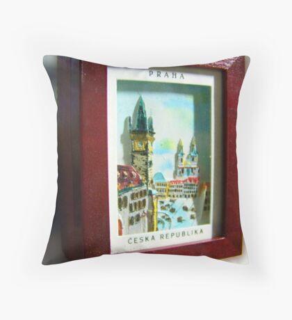 Czech Stash Throw Pillow