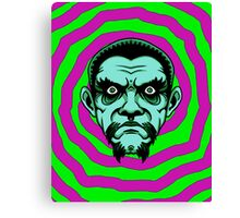 OBEY THE ZOMBIE BELA Canvas Print