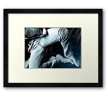 faded comfort Framed Print