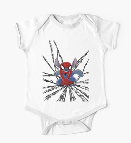 The Amazing Spider-Stitch One Piece - Short Sleeve