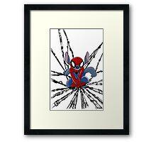 The Amazing Spider-Stitch Framed Print