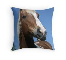 The Proud One Throw Pillow