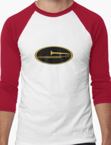 Trombone Gold sign Men's Baseball ¾ T-Shirt