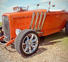 Orange Body Custom Car by lightmonger