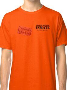 Arkham Inmate Classic T-Shirt