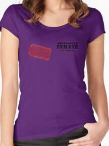 Arkham Inmate Women's Fitted Scoop T-Shirt