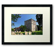 St Michael's Church, Shalfleet Framed Print