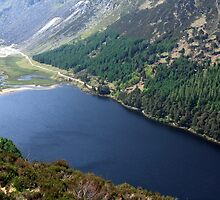 Upper Lake At Glendalough by aidan  moran