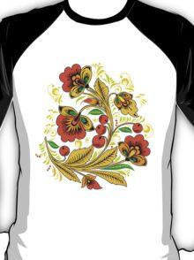 Khokhloma flower T-Shirt