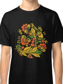 Khokhloma flower Classic T-Shirt